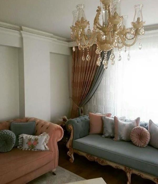 oturma odas perde modelleri perde modelleri perdeci. Black Bedroom Furniture Sets. Home Design Ideas